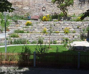 Bruchsteinmauer-Würzburger-Muschelkalk