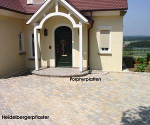 Heidelbergerpflaster-Porphyrplatten