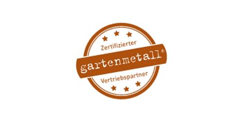 Zertifizierter gartenmetall Vertriebspartner